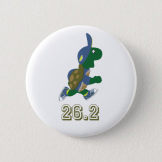 Marathon Turtle Runner in Blue Button