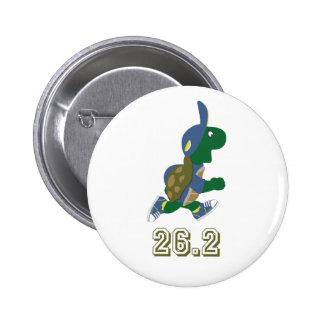 Marathon Turtle Runner in Blue Button