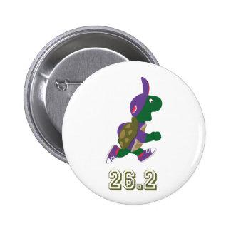 Marathon Turtle Runner in Purple Button