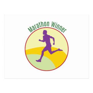 Marathon Winner Post Cards
