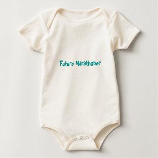 Marathoner futuro mamelucos de bebé