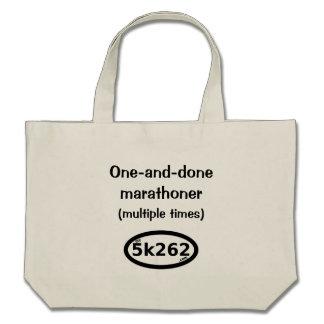 marathoner lleno Uno-y-hecho (tiempos múltiples) Bolsa De Mano