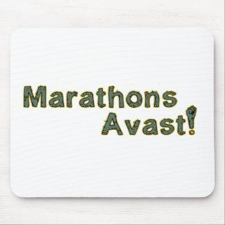 Marathons Avast! Mouse Pad