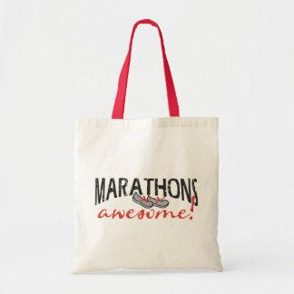 Marathons Awesome! Tote Bag