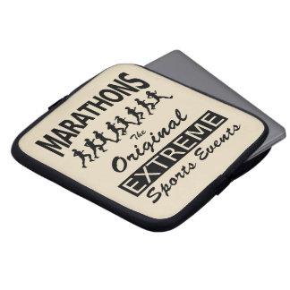 MARATHONS, the original extreme sports events Computer Sleeve