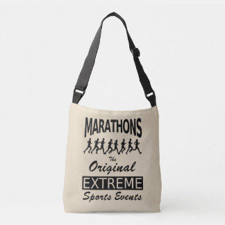 MARATHONS, the original extreme sports events Crossbody Bag