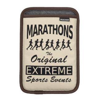 MARATHONS, the original extreme sports events iPad Mini Sleeve