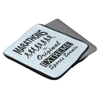 MARATHONS, the original extreme sports events Laptop Sleeve