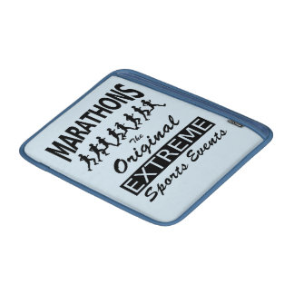 MARATHONS, the original extreme sports events MacBook Air Sleeve