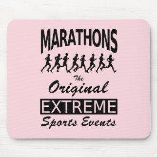 MARATHONS, the original extreme sports events Mouse Pad