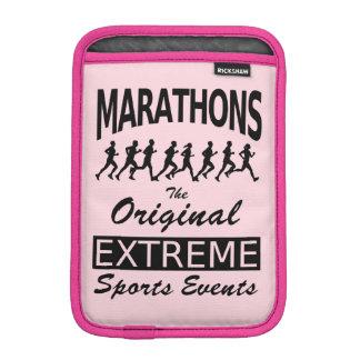 MARATHONS, the original extreme sports events Sleeve For iPad Mini