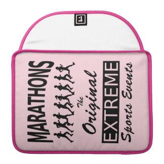 MARATHONS, the original extreme sports events Sleeve For MacBooks
