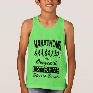 MARATHONS, the original extreme sports events Tank Top