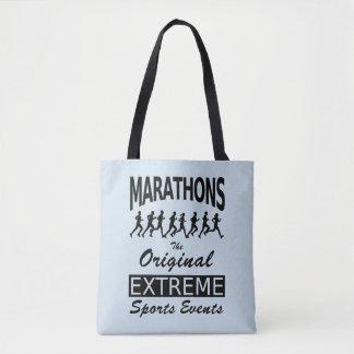 MARATHONS, the original extreme sports events Tote Bag