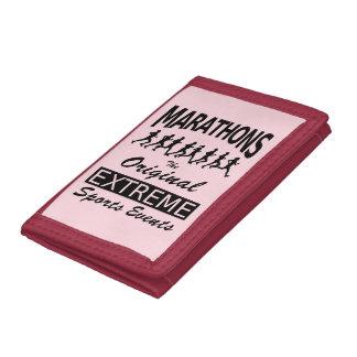 MARATHONS, the original extreme sports events Tri-fold Wallet