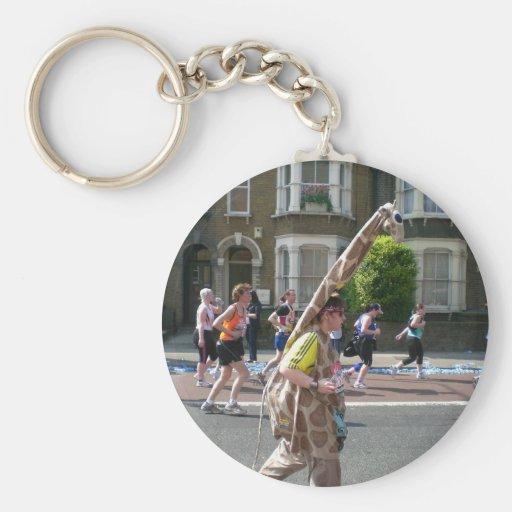 Maratón 2011 en Londres Llavero Redondo Tipo Pin