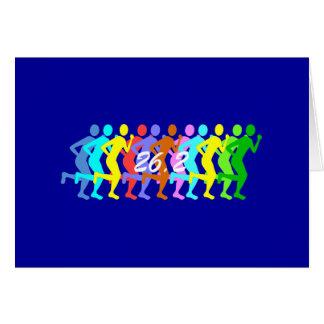 maratón 26,2 felicitación