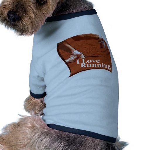 Maratón corriente del iGuide Camisa De Mascota