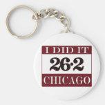 Maratón de Chicago Llavero Personalizado