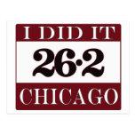Maratón de Chicago Postal