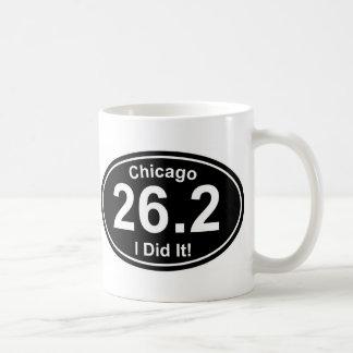 Maratón de Chicago Taza De Café
