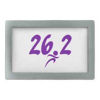 Maratón de la púrpura 26 2 hebillas de cinturon