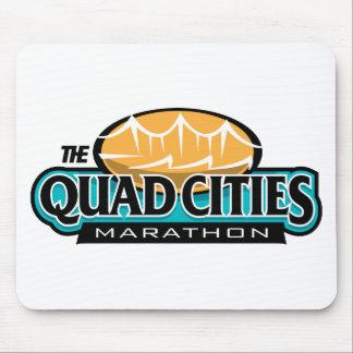 Maratón de las ciudades del patio tapetes de ratón