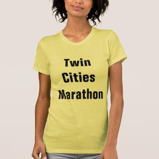 Maratón de las ciudades gemelas tshirt