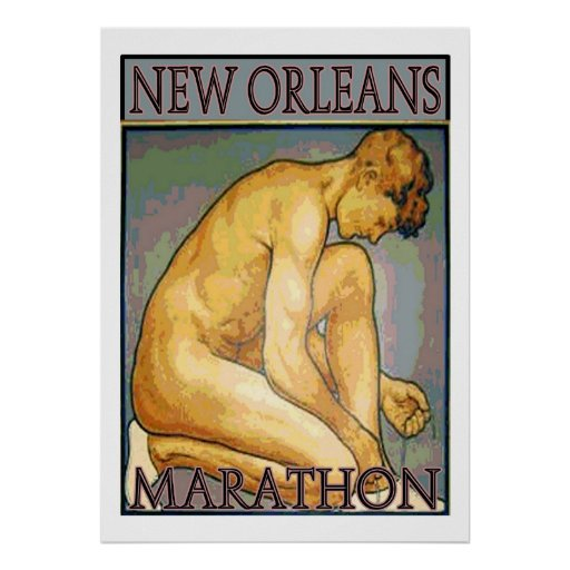 Maratón de New Orleans Posters