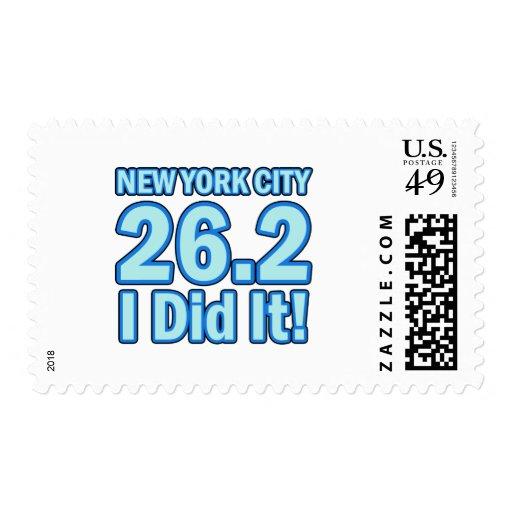 Maratón de New York City Sello