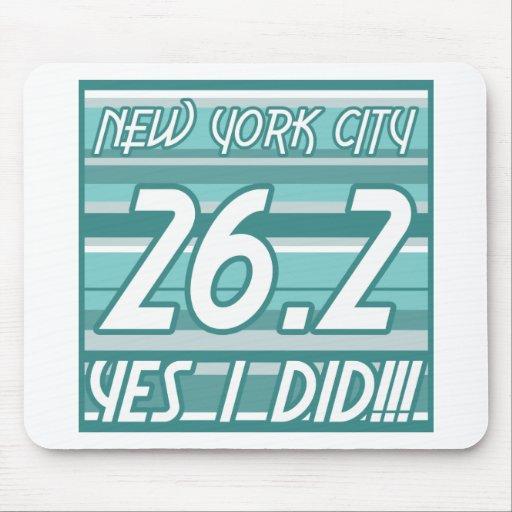 Maratón de New York City Tapete De Raton