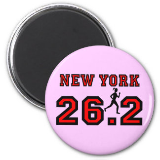Maratón de Nueva York Imanes