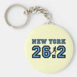 Maratón de Nueva York Llaveros Personalizados