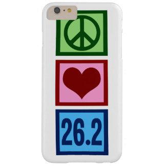 Maratón del amor de la paz funda de iPhone 6 plus barely there
