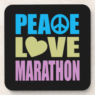 Maratón del amor de la paz posavaso