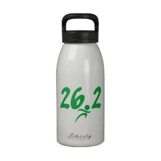 Maratón del verde 26,2 botellas de agua reutilizables