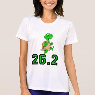 Maratón divertido de la tortuga camisetas