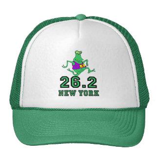 Maratón divertido de Nueva York Gorro De Camionero