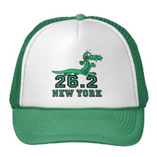 Maratón divertido de Nueva York Gorros Bordados