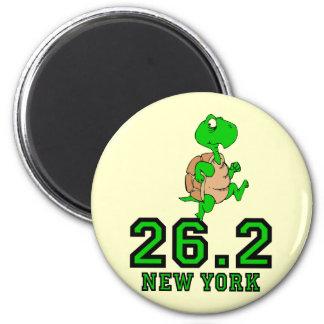 Maratón divertido de Nueva York Imanes