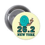 Maratón divertido de Nueva York Pin