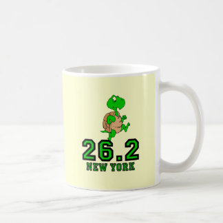 Maratón divertido de Nueva York Taza De Café