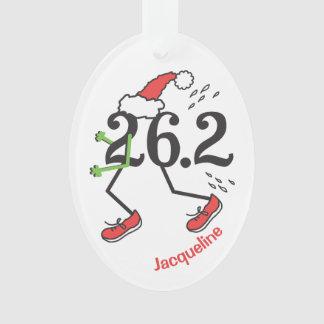 Maratón divertido personalizado del día de fiesta