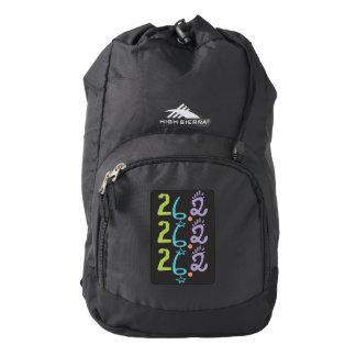 Maratón ecléctico 26,2 mochila