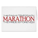 Maratón - el orgullo está para siempre - buena sue felicitación