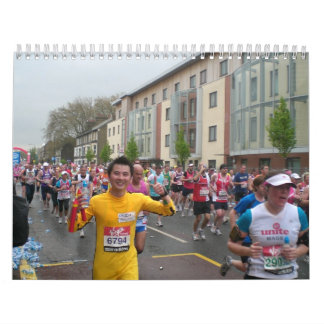 Maratón en el calendario 2012 de Londres