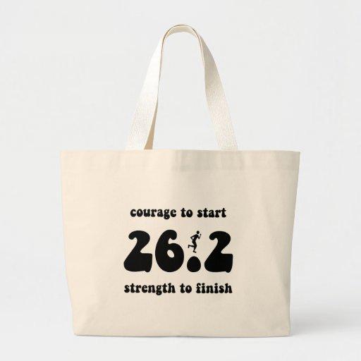 Maratón inspirado bolsas de mano