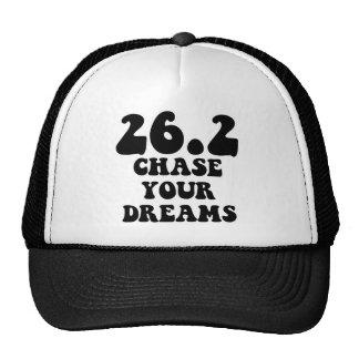 Maratón inspirado gorras