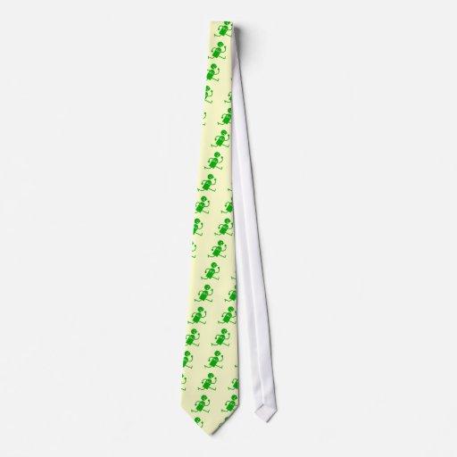 Maratón lindo y divertido corbatas