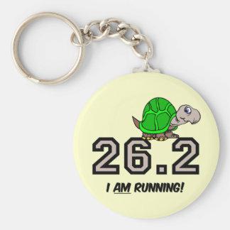maratón llavero redondo tipo pin